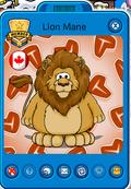 Lion mane