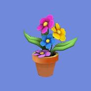 Maceta con Flores Icono