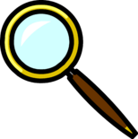 Magnifying Glass Pin