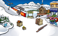 Music Jam 2009 construction Ski Village