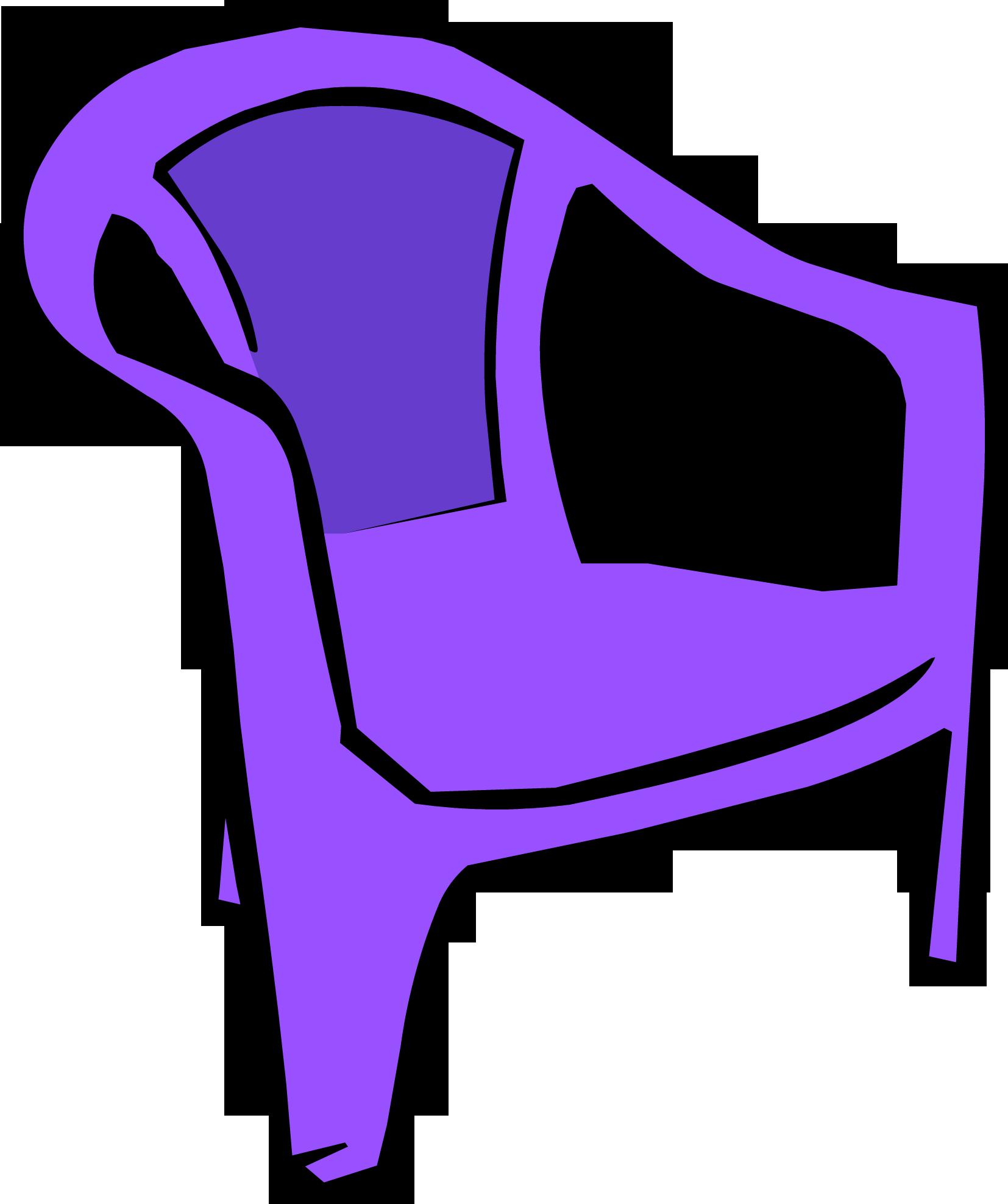 Image Purple Plastic Chair PNG Club Penguin Wiki