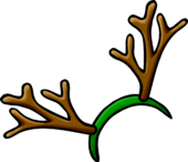 Reindeer Antlers clothing icon ID 471