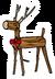 Reindeer Pin