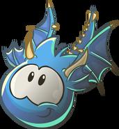 443px-Blue Puffle Dragon