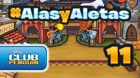 Alasyaletas - Episodio 11 Club Penguin oficial