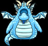 Blue Dragon Costume clothing icon ID 4082