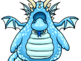 Blue Dragon Costume