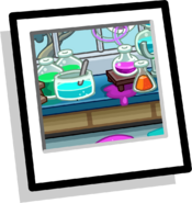 Mad Science Background Icon