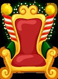 Santa Chair furniture icon ID 591