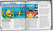 Summer Party 2007 article