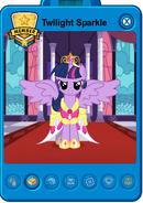 Twilight Sparkle Alicorn player card