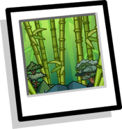 Bamboo Grove Background icon
