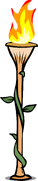 Bamboo Torch sprite 001