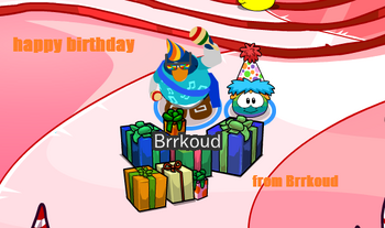 Birtday card Brrkoud