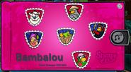 Estampilla Bambalou