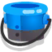 Ink or Swim blue bucket icon