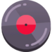 Music track holiday icon
