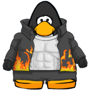 Stuntman Suit from a Player Card