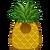 Disfraz de Piña Tropical icono