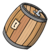 Cream Soda Barrel Pin