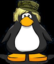 Khaki Rocker Cap from a Player Card