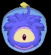 Puffle Alien Morado app