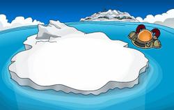 Waddle On Party Iceberg