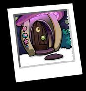 Wizard's Workshop Background icon (open door)