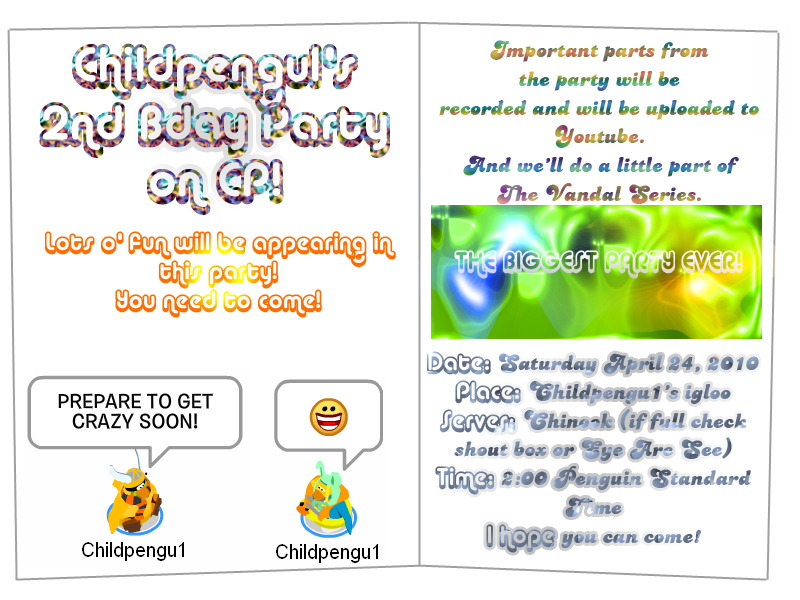 Invitationpartybday