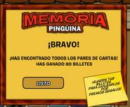 Memoria pinguina juego 1