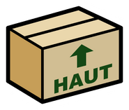 Pin de Caja de Cartón fr