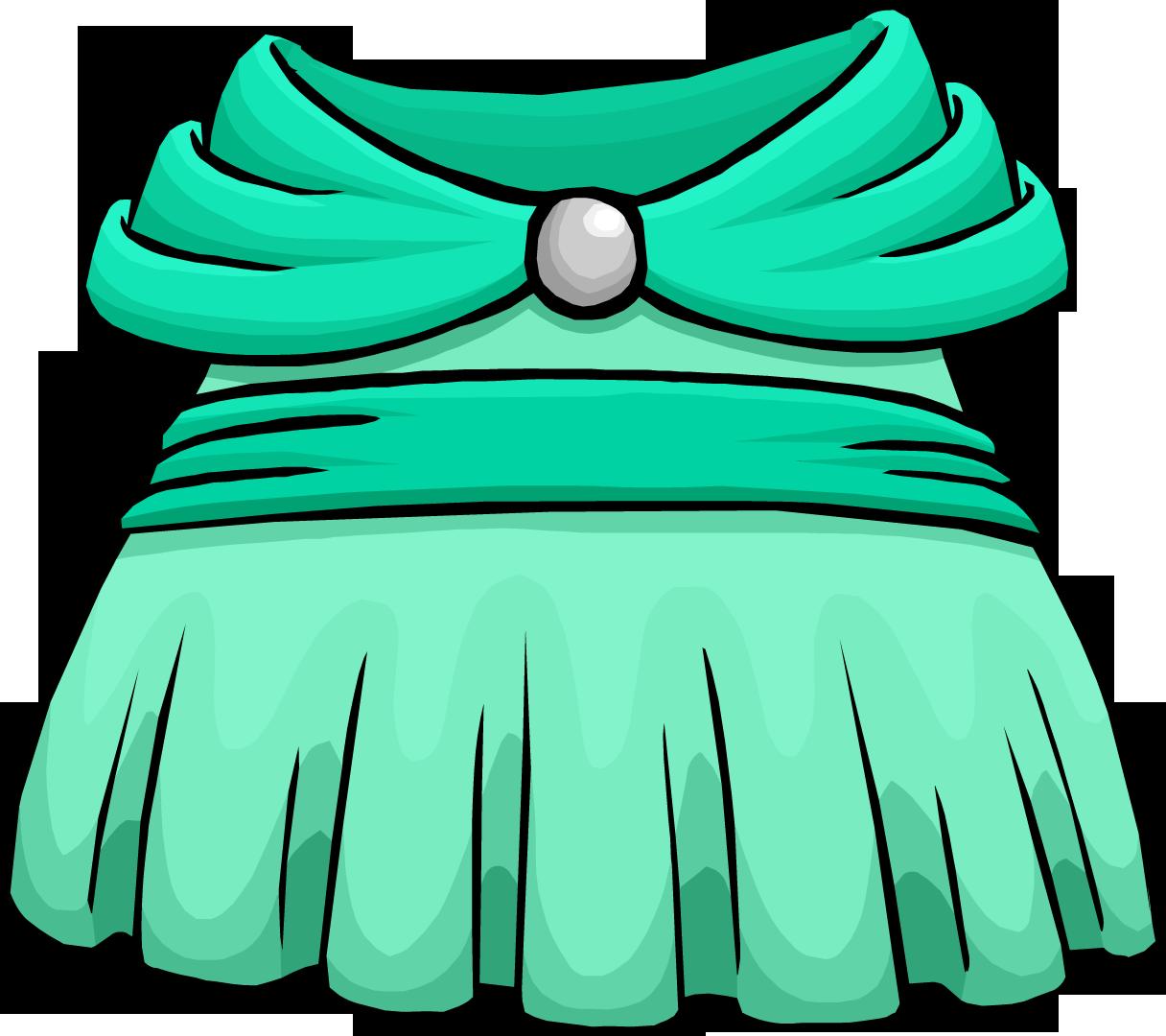 Image - Seafoam Dress.PNG | Club Penguin Wiki | FANDOM powered by ...
