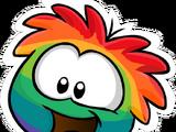 Pin del Puffle Multicolor