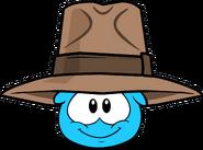 Adventurer's Fedora in Puffle Interface
