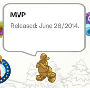 MVP Pin in a Stamp Book