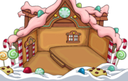 Deluxe Gingerbread House in-game