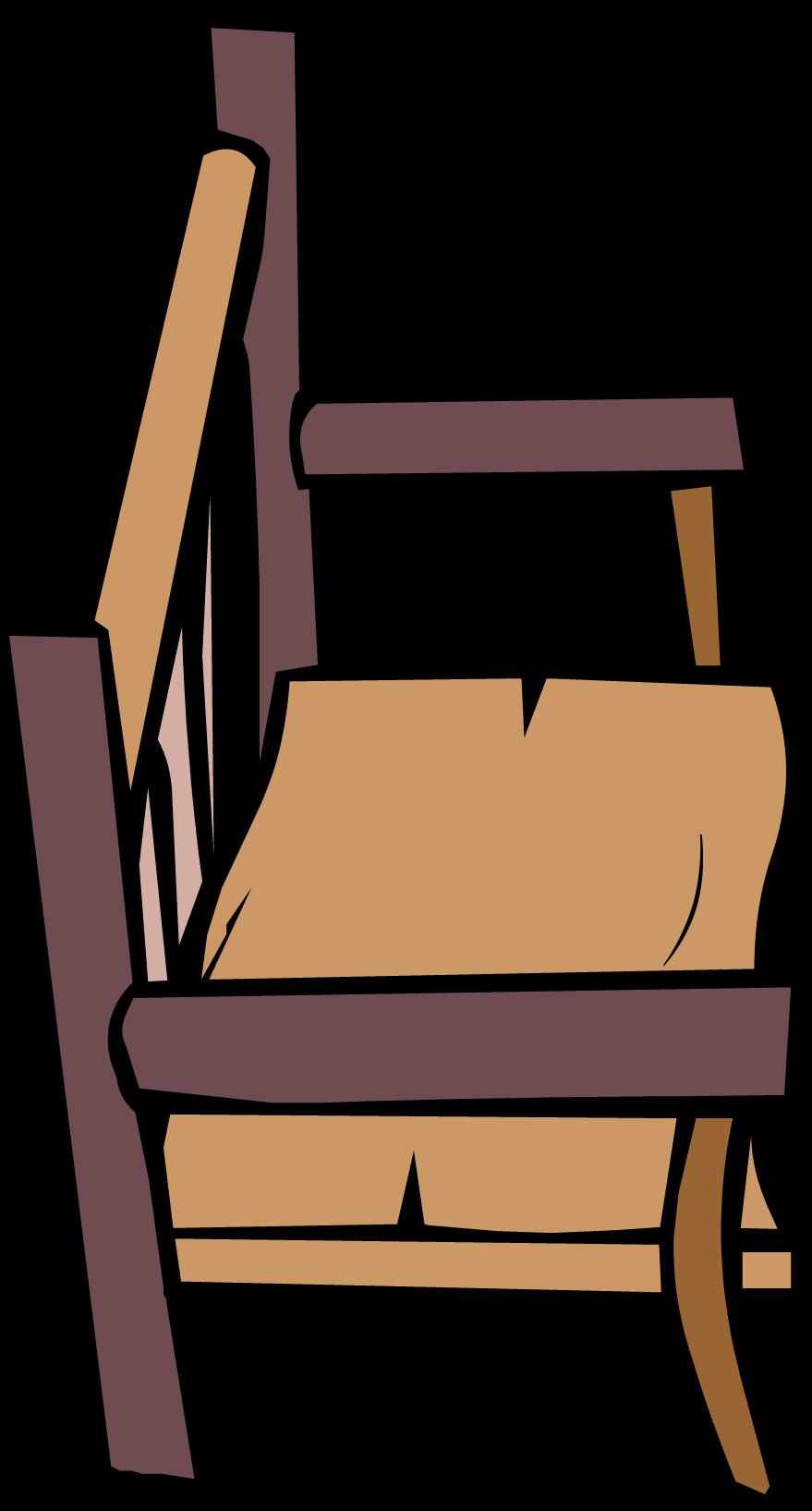 Image log bench sprite club penguin wiki