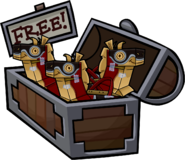 Noble Horses in Treasure Chest