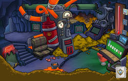 Operation Puffle Herbert's Hoard Lair