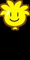Yellow Puffle Balloon icon
