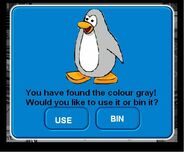 GRAY PENGUIN.