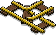 Gold Railroad Intersection sprite 002