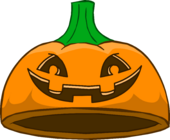 Puffle Care icons Head Pumpkincap