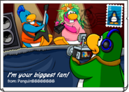 Your Biggest Fan postcard