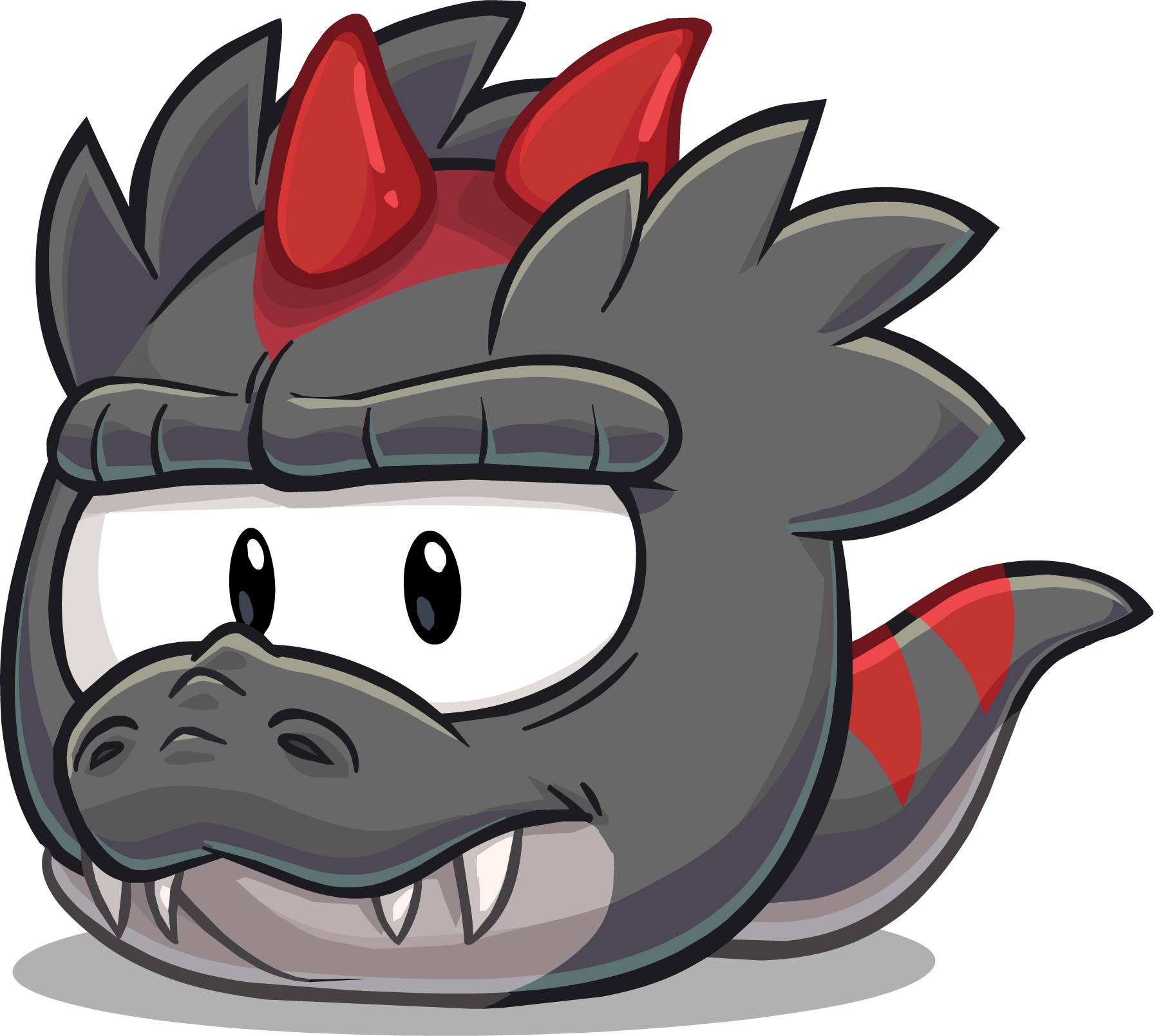 Imagen - BlackTRexPuffle.png | Club Penguin Wiki | FANDOM powered by ...