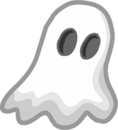 Halloween 2013 Emoticons Ghost