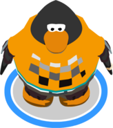 Orange Skater Outfit In-Game