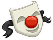 Red Nose Pin Icon
