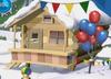 Ski lodge 3d