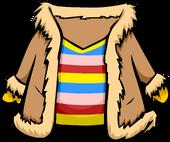 Abrigo de Gamuza Pastel icono